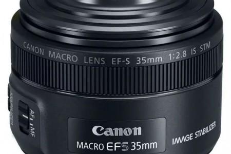 佳能发布内置环形 LED 灯EF-S 35mm f/2.8 Macro IS STM的新镜头