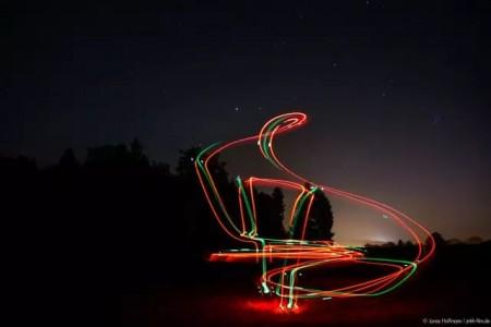 一步步指导你如何用无人机做光绘