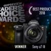 DPReview 2018年用户选择奖:索尼a7 III夺冠