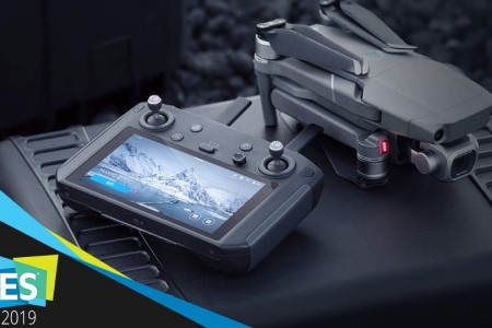 【CES 2019】大疆发布新款Mavic 2专用带屏遥控器