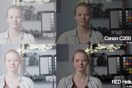 C200摄影机到底能过曝几挡?