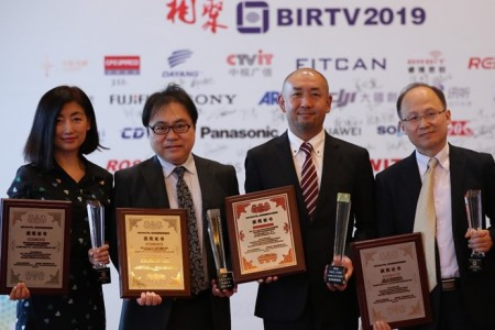 BIRTV2019索尼四款产品获奖,HDC-5500摘得本届唯一产品大奖桂冠