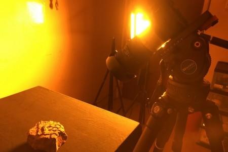双灯齐下,染色光环境的效率拍摄