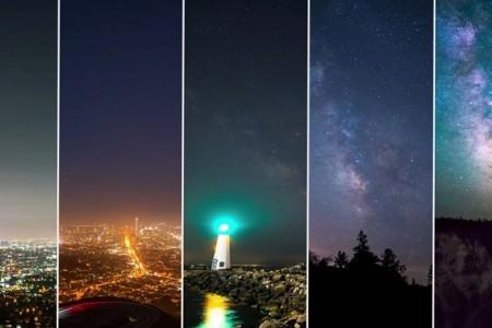 星星哪去了? 8K延时视频呈现美艳夜空