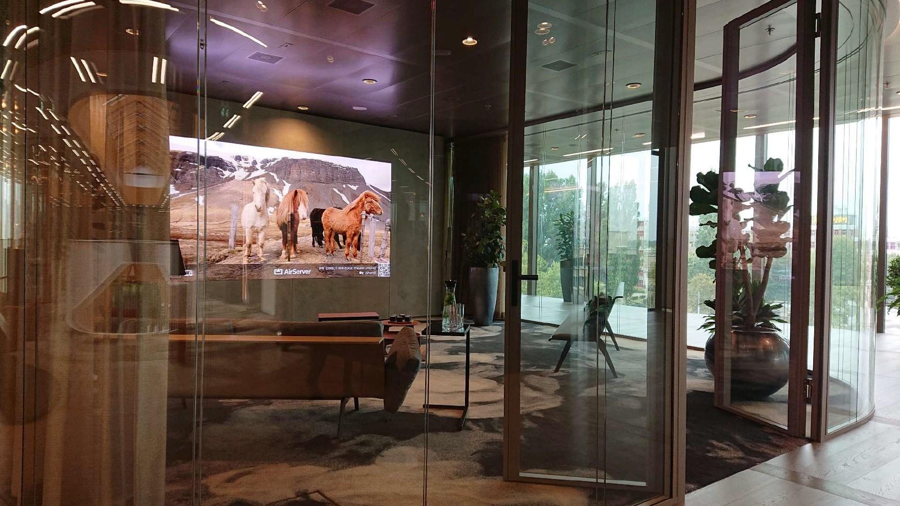 EDGE Technologies 选择索尼的黑彩晶高端拼接显示屏 将智能化视觉体验和生态建筑带入人们生活