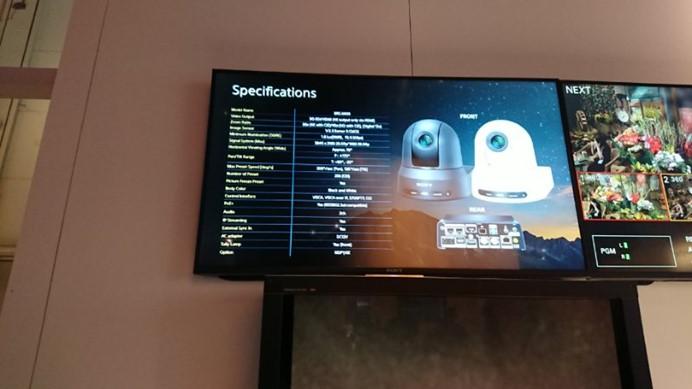索尼推出首款具有NDI®功能的IP 4K云台摄像机BRC-X401