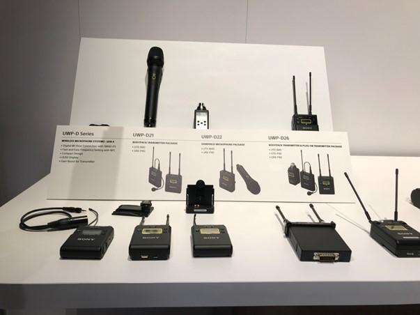索尼推出新型高品质无线麦克风系统UWP-D