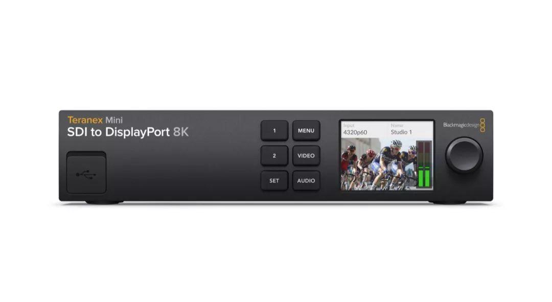 新品|Teranex Mini SDI to DisplayPort 8K HDR转换器发布