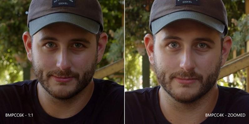 视频献上,BMPCC 6K与BMPCC 4K拍摄画面并列比较