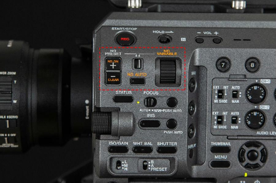 不得不说,无级可调ND滤镜在PXW-FX9V上真是异常好用
