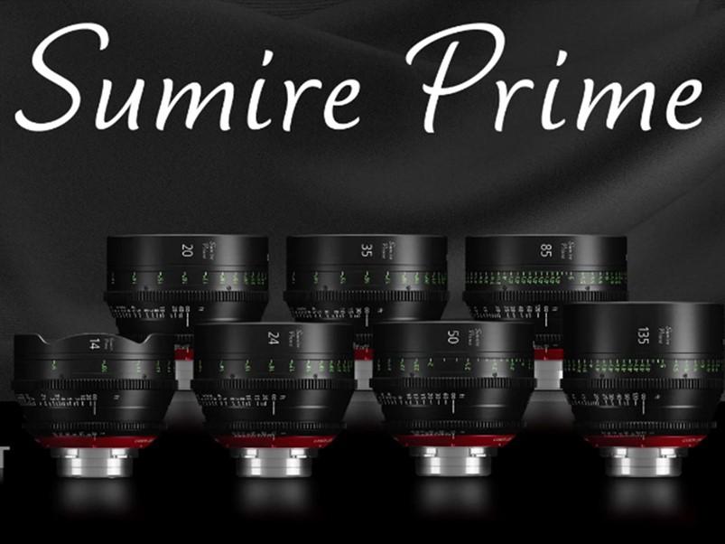 佳能Sumire Prime电影镜头演示视频拍摄体验分享
