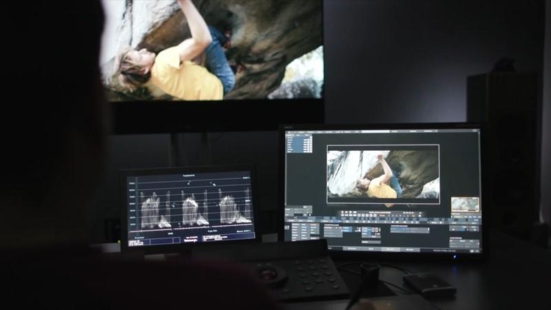 深度使用佳能C500 Mark II,又一个攀岩影片案例来了