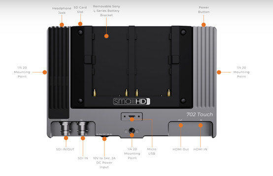 Small HD带来新触摸屏小监702 Touch
