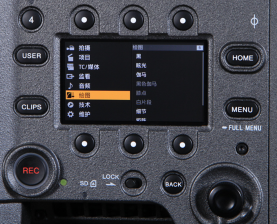 更好用的用户画框线,精确的水平仪…… CineAltaV V5.01的这些细节你知道吗?