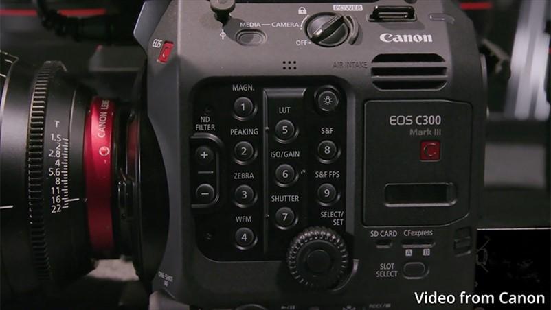 C70是相机血统的摄影机?